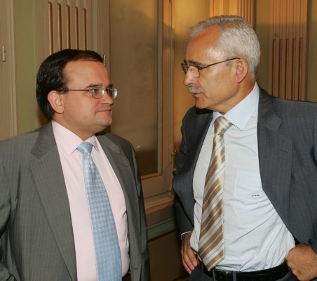 Carlos Álvarez y José Eladio Seco