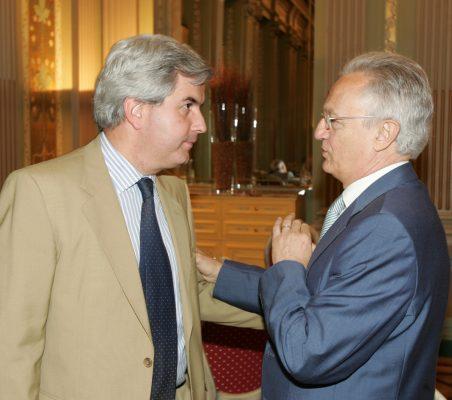 Gonzalo Babé y Ángel Durández
