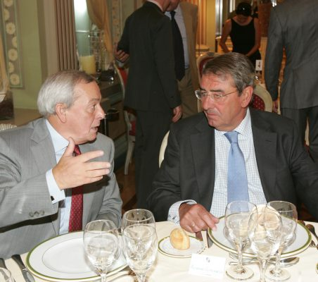 Carlos Solchaga y Alejandro Echevarría