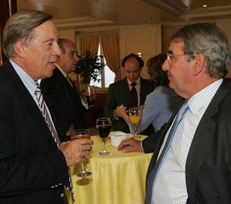 Carsten Moser y Alejandro Echevarría