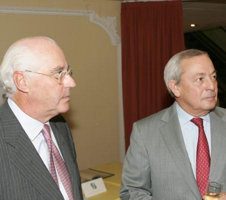 Rafael Miranda y Carlos Solchaga