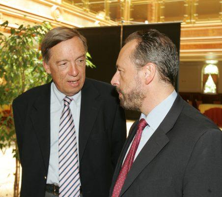 Carsten Moser y Luis Fraga