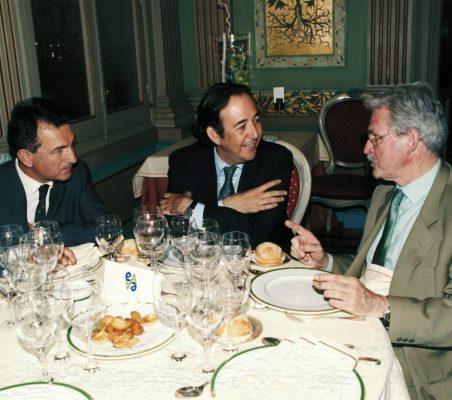Juan Carlos Palomo, Carlos López Blanco y Amadeo Petitbó