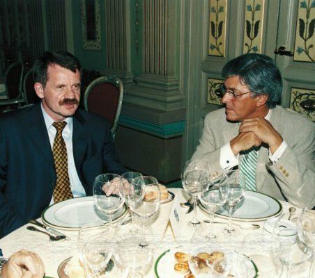 Andrzej Chmiel y Carlos Moreira