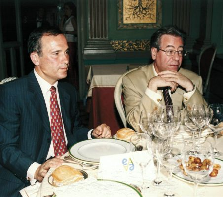 José luis del Valle y Jacinto García Palacios