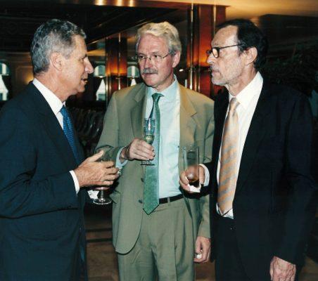 Jaime Carvajal y Urquijo, Amadeo Petitbó y Emilio Cassinello