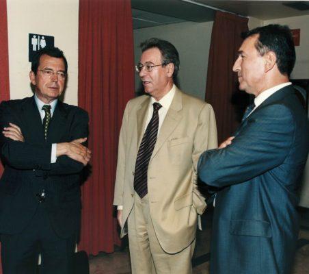 Santiago Martínez Lage y Jacinto García Palacios
