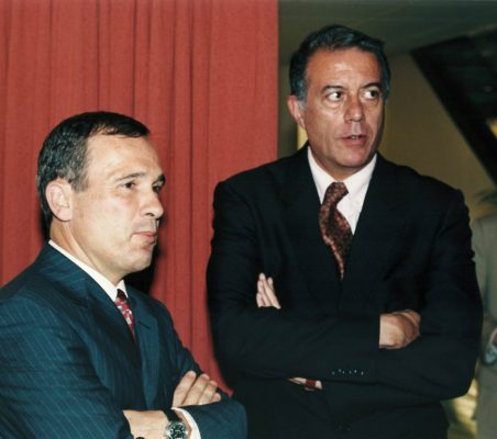 José luis del Valle  y Carlos Salas