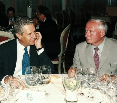 Jaime Carvajal y Urquijo y Oskar Lafontaine