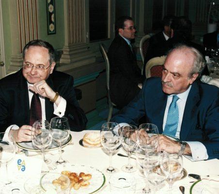 Andrzej Raczko y Fernando Almansa