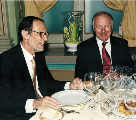 Emilio Cassinello y John Grimond