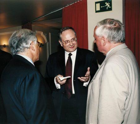 Andrzej Raczko y Oskar Lafontaine