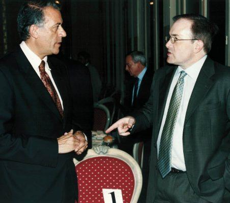 Carlos Salas y Robert Riley