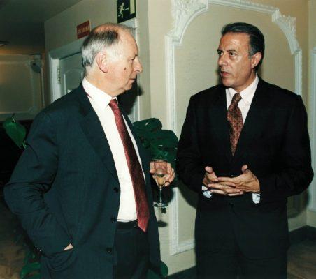 Stanley Bendelac y Carlos Salas
