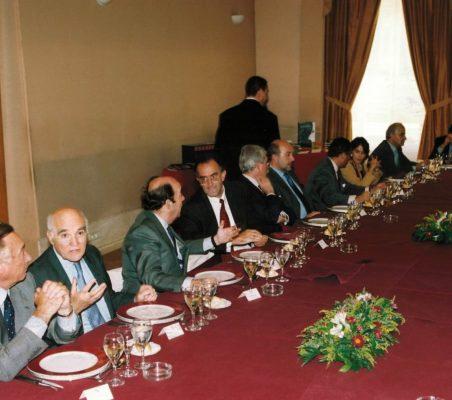 Almuerzo  en la Sociedad General del Autores SGAE