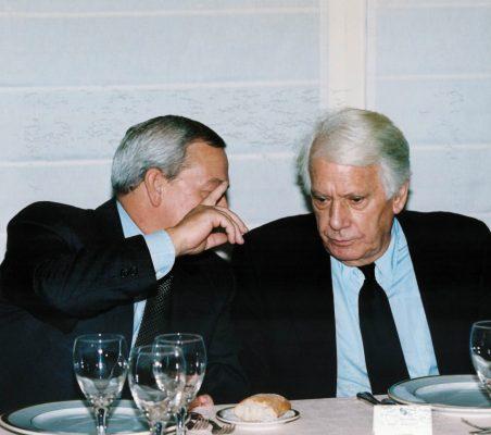 Carlso Solchaga y Jorge Semprún