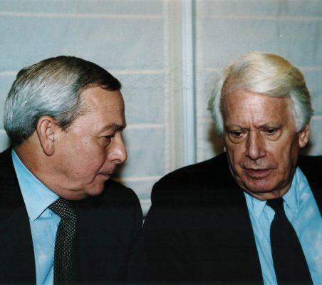 Carlos Solchaga y Jorge Semprún