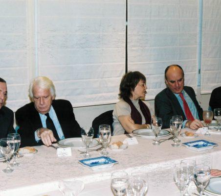 Carlos Solchaga, Jorge Semprún, Flora Peña , Ignacio Ruiz Jarabo