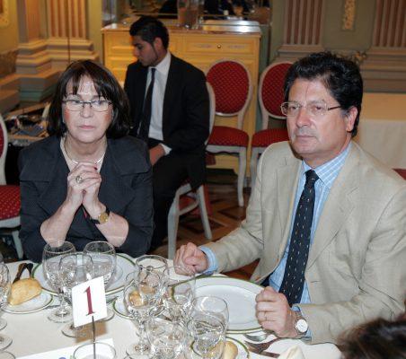 Rosa Conde y Francisco Fuenzalida