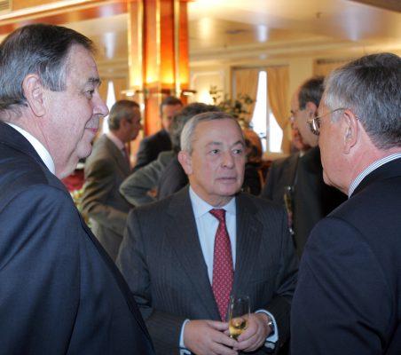 Juan Badosa y Carlos Solchaga