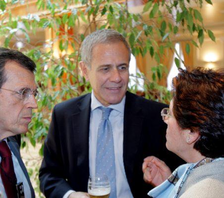 Santiago Martínez-Lage, Ramón Reyes y Pilar Zugaza
