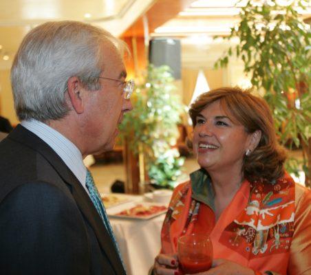 Pedro Pérez y Mª Jesús Escribano