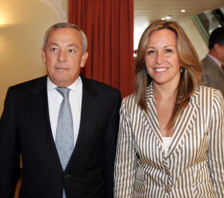 Carlos Solchaga y Trinidad Jiménez