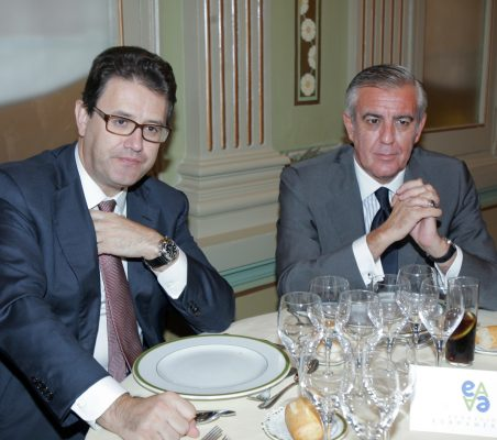 José Antonio Llorente y Antonio Camuñas