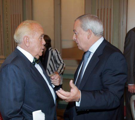 Luis Martí y Carlos Solchaga