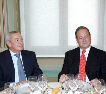 Carlos Solchaga y Víctor Moreno