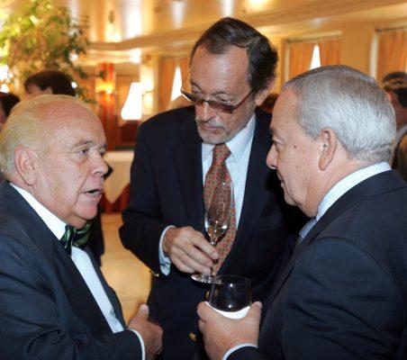 Luis martí, Emilio Cassinello y Carlos Solchaga