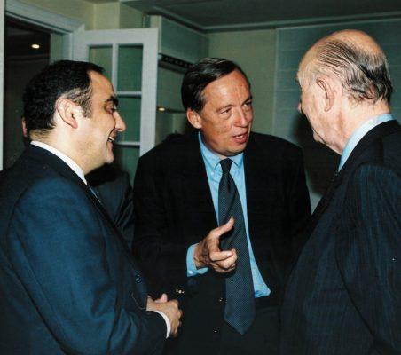 Manuel Rodríguez de Castro, Carsten Moser y  Ricardo Díez Hochleítner