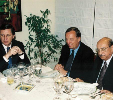 Carlos Pareja, Carsten Moser y Valentín Paniagua