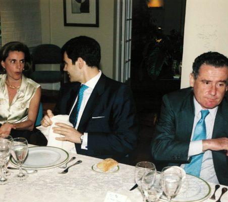 Leonor Ortíz Monasterio , José Mª Sanz-Magallón y Manuel Gasset