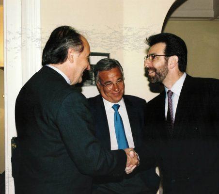 Miguel Vergara, Antonio Gracia y Francisco Rivarola