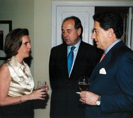 Leonor Ortíz Monasterio, Miguel Vergara y Javier Targhetta