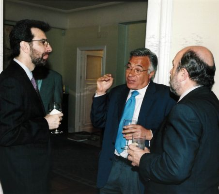 Francisco Rivarola , Antonio Gracia y Joaquín Almunia