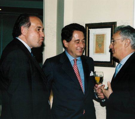 Miguel Vergara, Javier Targhetta y Ángel Durández