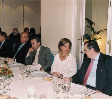 Leonor Ortiz Monasterio conversa con Antonio Ortega