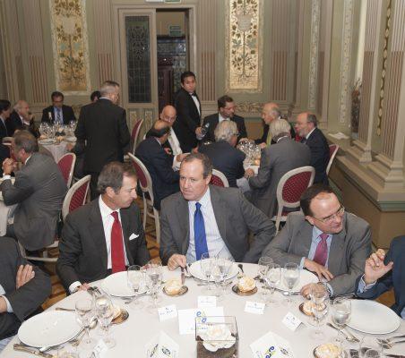 Antón Reixa, Borja Baselga, Jesús Terciado, Carlos Álvarez y Daniel Calleja