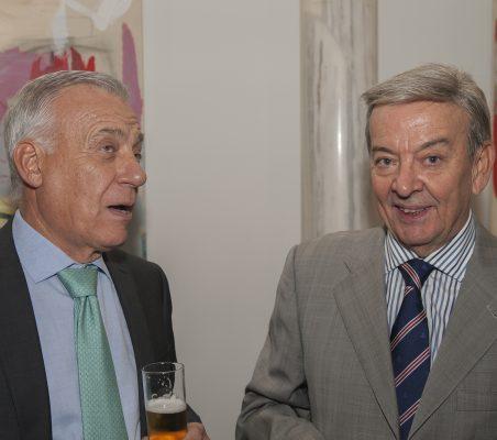 Antonio Gracia y Eusebio Serrano