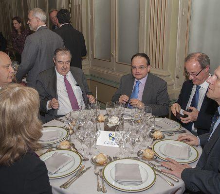 Antonio Ortega, Carlos Álvarez, Ciriaco Hidalgo, y Carlos Malamud