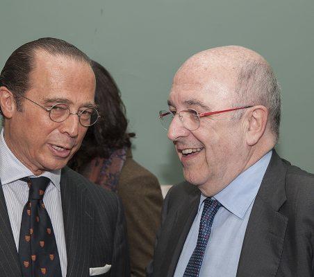 Antonio Vázquez y Joaquín Almunia