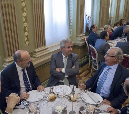 Antonio de Oyarzabal, Fernando García Casas, Gonzalo Babé y Ángel Bizcarrondo
