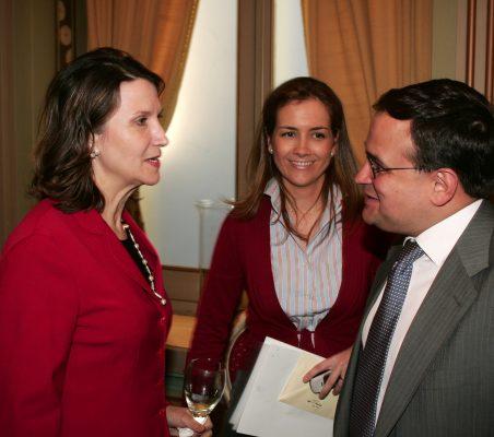Asunción Valdés, Patricia Alfayate y Carlos Álvarez
