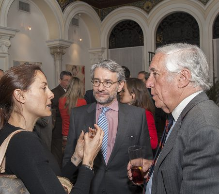 Bárbara Navarro, Rafael García del Poyo y Carlos Espinosa de los Monteros