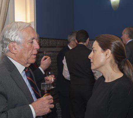 Bárbara Navarro y Carlos Espinosa de los Monteros