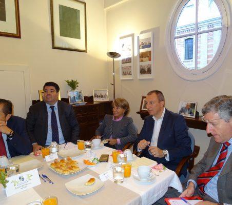 David Tuesta, Fabio Pellicer, Luisa Peña, Carlos Artal y Claudio Vallejo