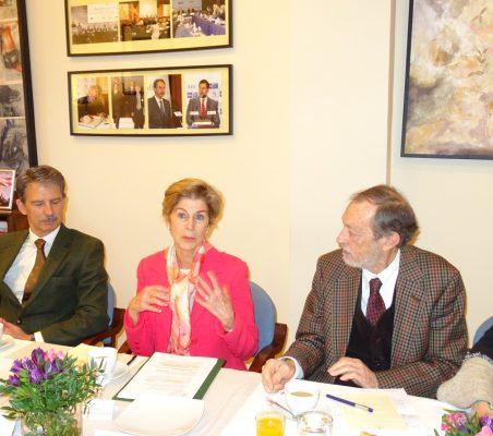 José Ignacio Salafranca, Carolina Barco y Emilio Cassinello