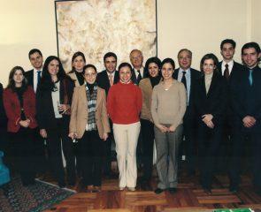 Becarios Centro de Estudios Garrigues 2003-2004